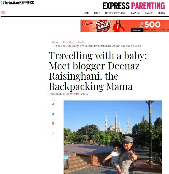 in the news - indian express